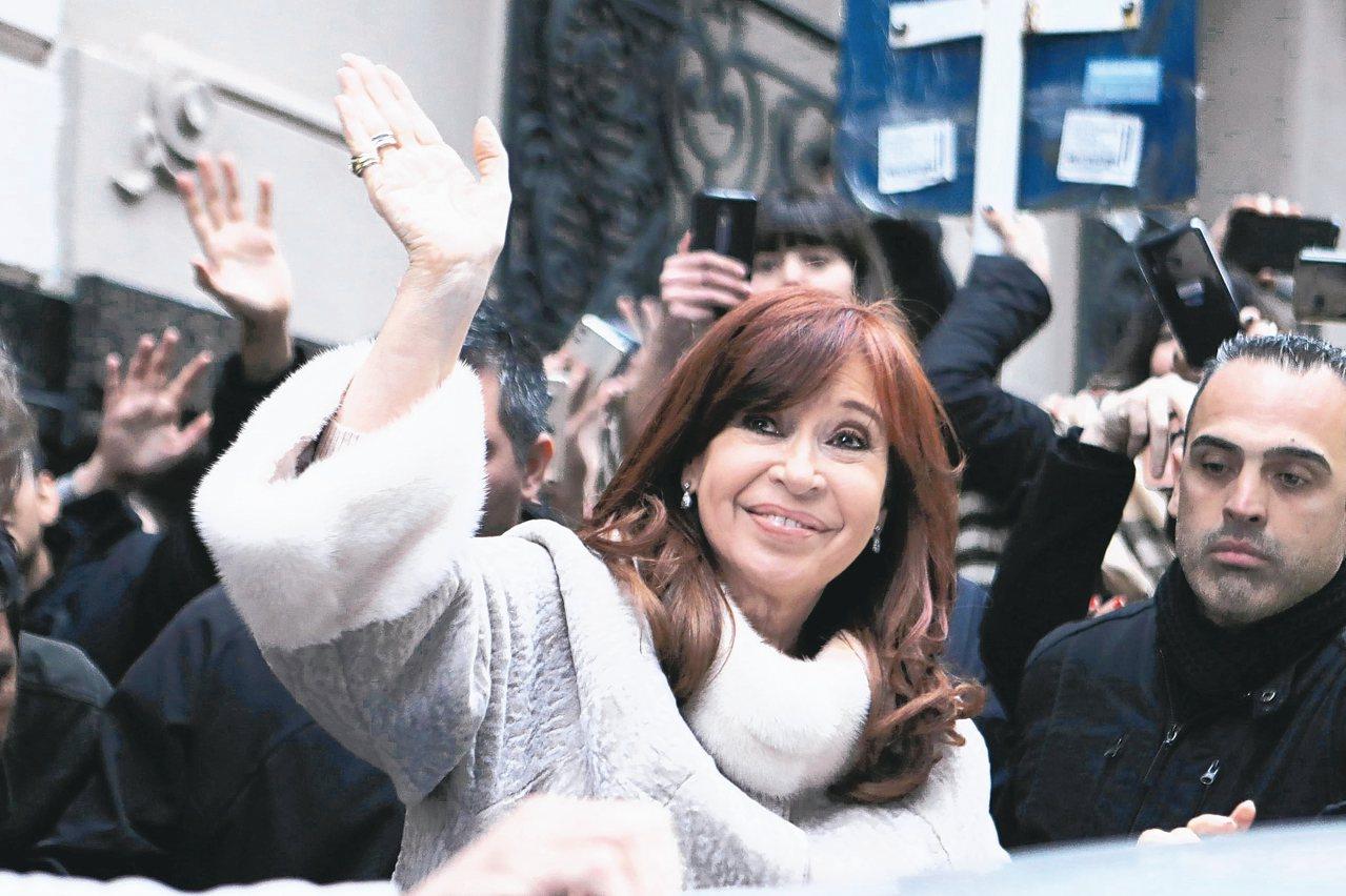 阿根廷總統費南德茲。 (路透)
