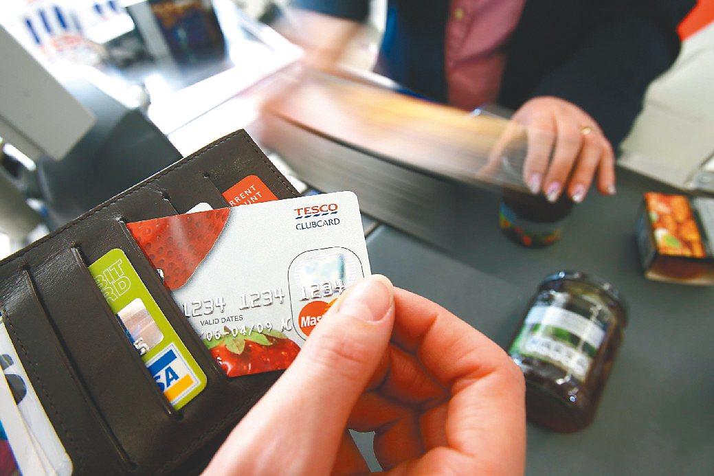若濫用信用卡額度,容易一不小心就有了卡債。 圖/聯合報系資料照片