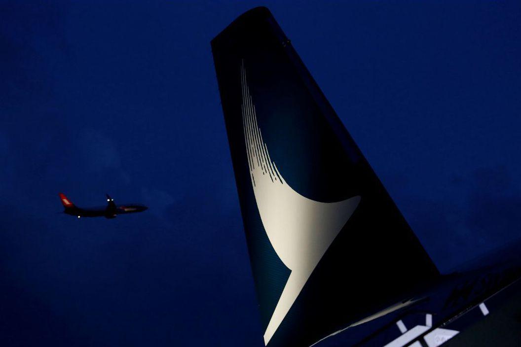 國泰航空傳還會有一波人事清理行動。(路透)