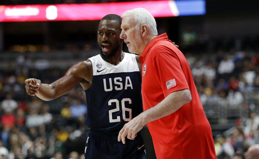 美國男籃退隊潮不斷,但團隊在熱身賽卻擊敗強敵西班牙,主帥波波維奇高喊的「防守與替...