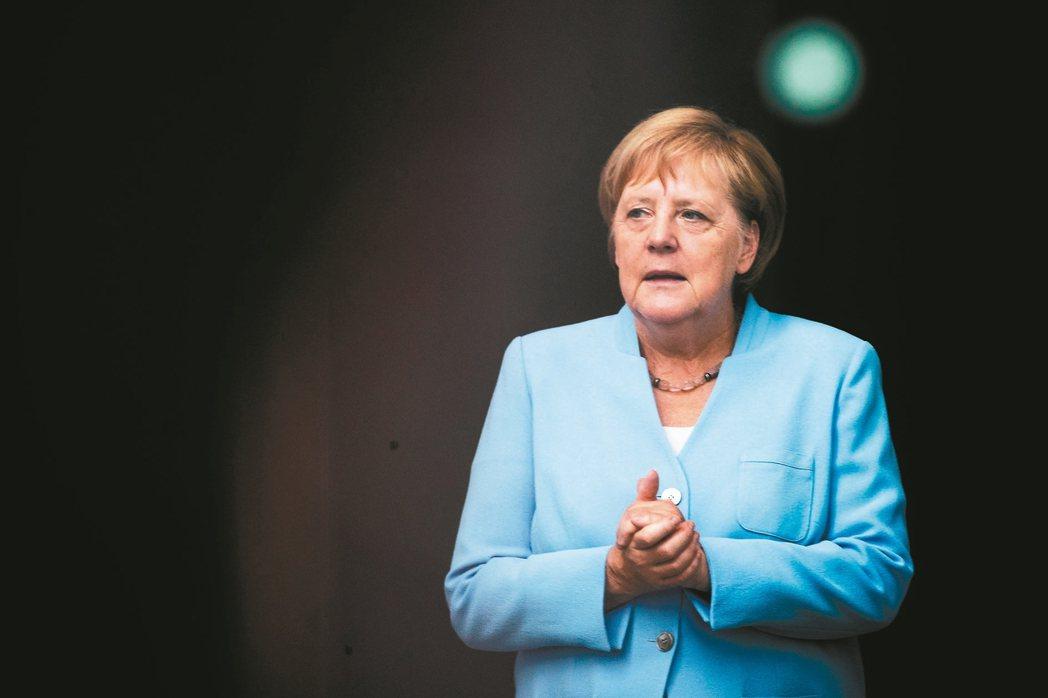 德國總理梅克爾 歐新社