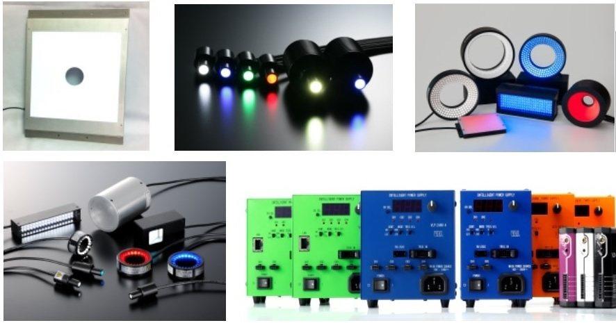 工業鏡頭所需的光源與電源供應器,輝視均能自製。 輝視/提供