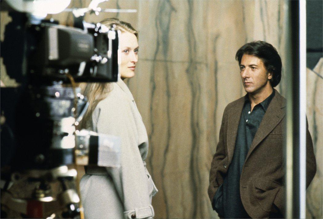 梅莉史翠普1979年與達斯汀霍夫曼合演「克拉瑪對克拉瑪」。 圖/擷自IMDb網站