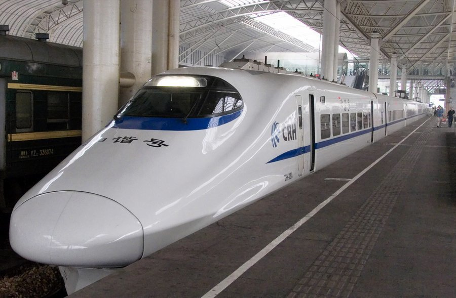 中國的高鐵建設技術已達世界前列水準。(photo by Wikimedia)