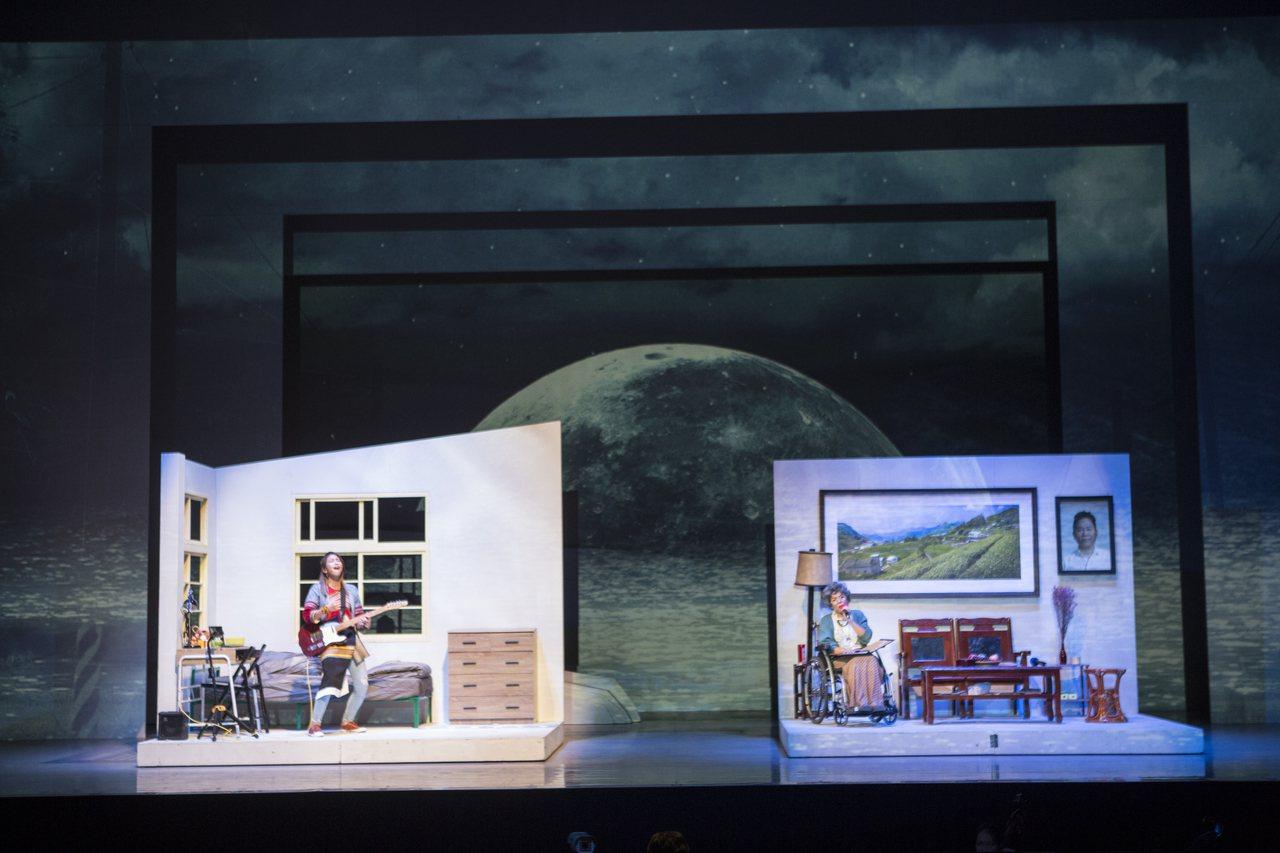 「綠島小夜曲」本周起在台北、高雄連演八場。圖/ 果陀劇場提供