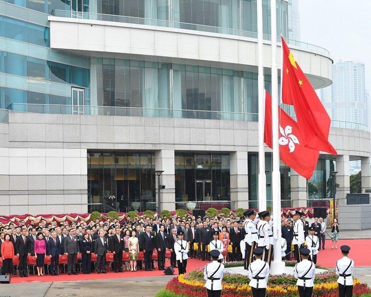 中國駐歐盟使團發言人重申香港事務屬中國內政,外國無權干涉。取自星島網