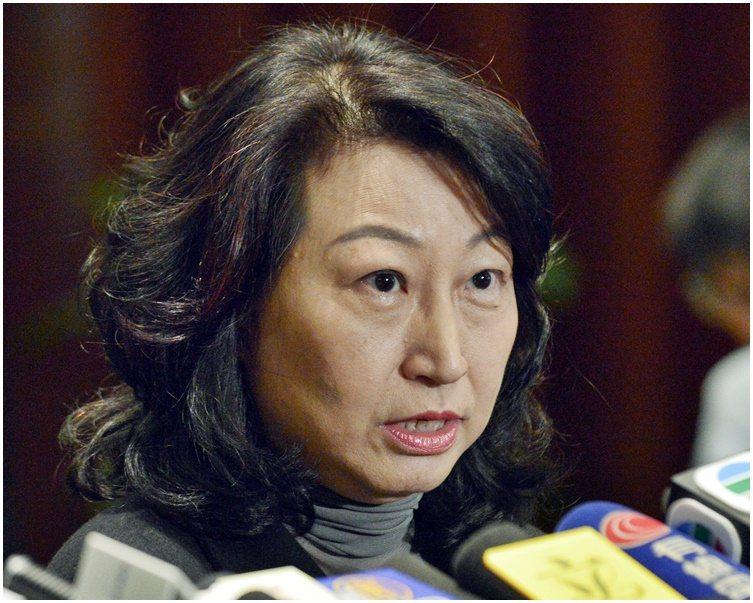 香港律政司長鄭若驊希望市民今日以和平理性進行集會。取自星島網