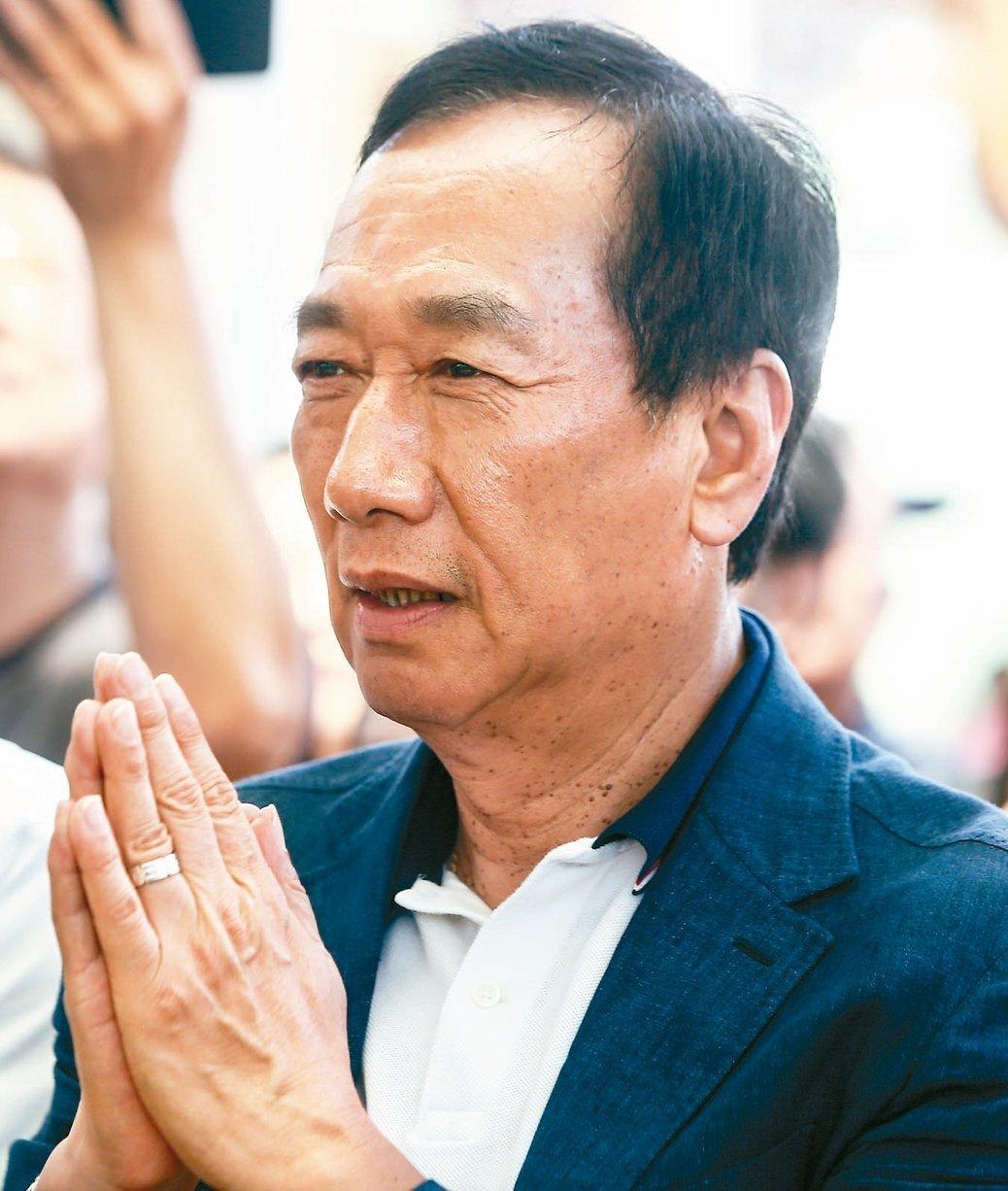 鴻海前董事長郭台銘。本報資料照片