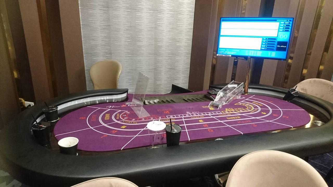 台南市中西區「Nine Luck餐廳」涉嫌經營百家樂賭博。記者黃宣翰/翻攝