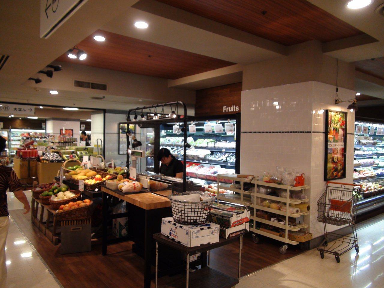 各式蔬果新鮮上市。記者謝梅芬/攝影