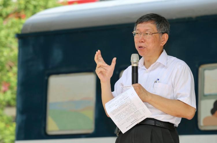台北市長柯文哲。 記者林伯東/攝影