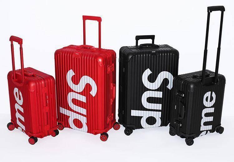 2018年春天,RIMOWA與SUPREME推出聯名系列行李箱,當時造成轟動,世...