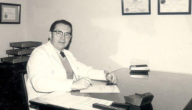 花蓮門諾醫院創院院長薄柔纜醫師昨日安息主懷,享壽94歲。圖/門諾醫院提供