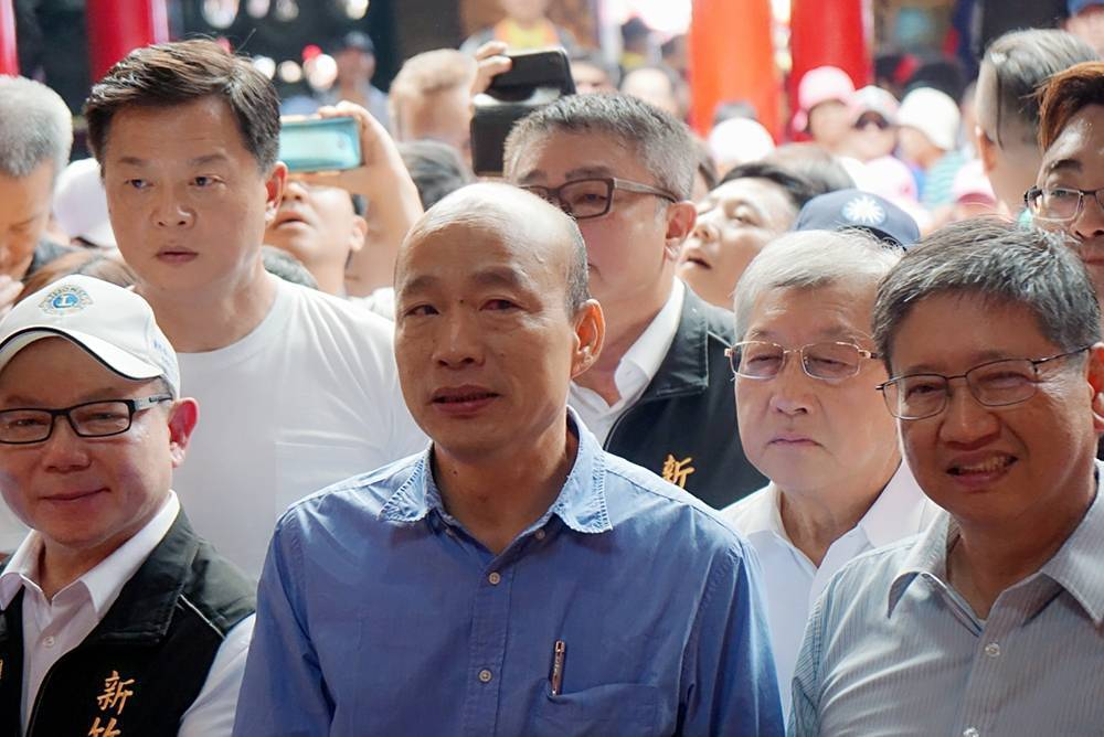 高雄市長韓國瑜。記者劉宛琳/攝影