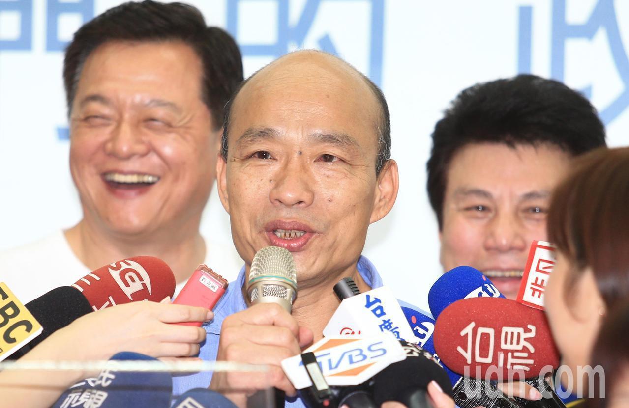高雄市長韓國瑜。記者陳正興/攝影