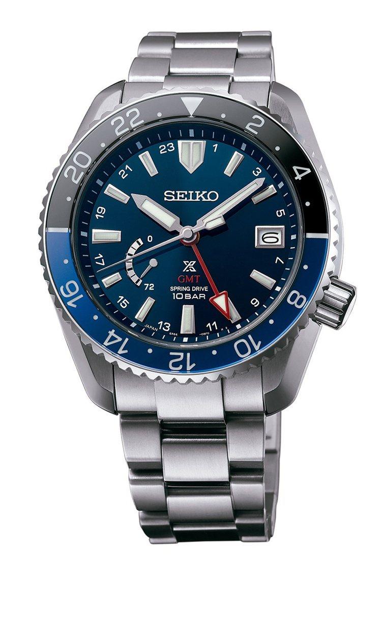 SEIKO Prospex系列LX Line SNR033J1兩地時間腕表,鈦金...