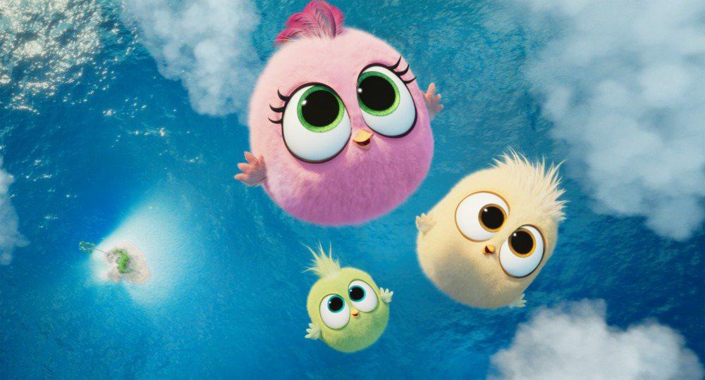 「憤怒鳥玩電影2:冰的啦!」評價更勝首集。圖/索尼提供