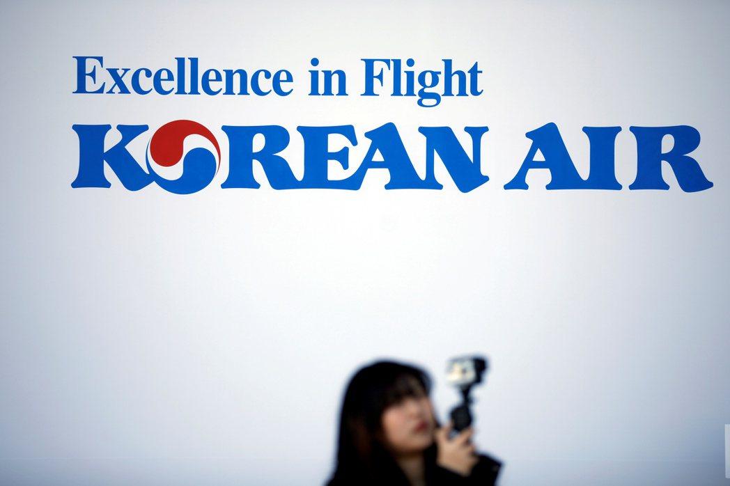南韓航空業者受「抵制日本」的行動衝擊。(圖/路透)