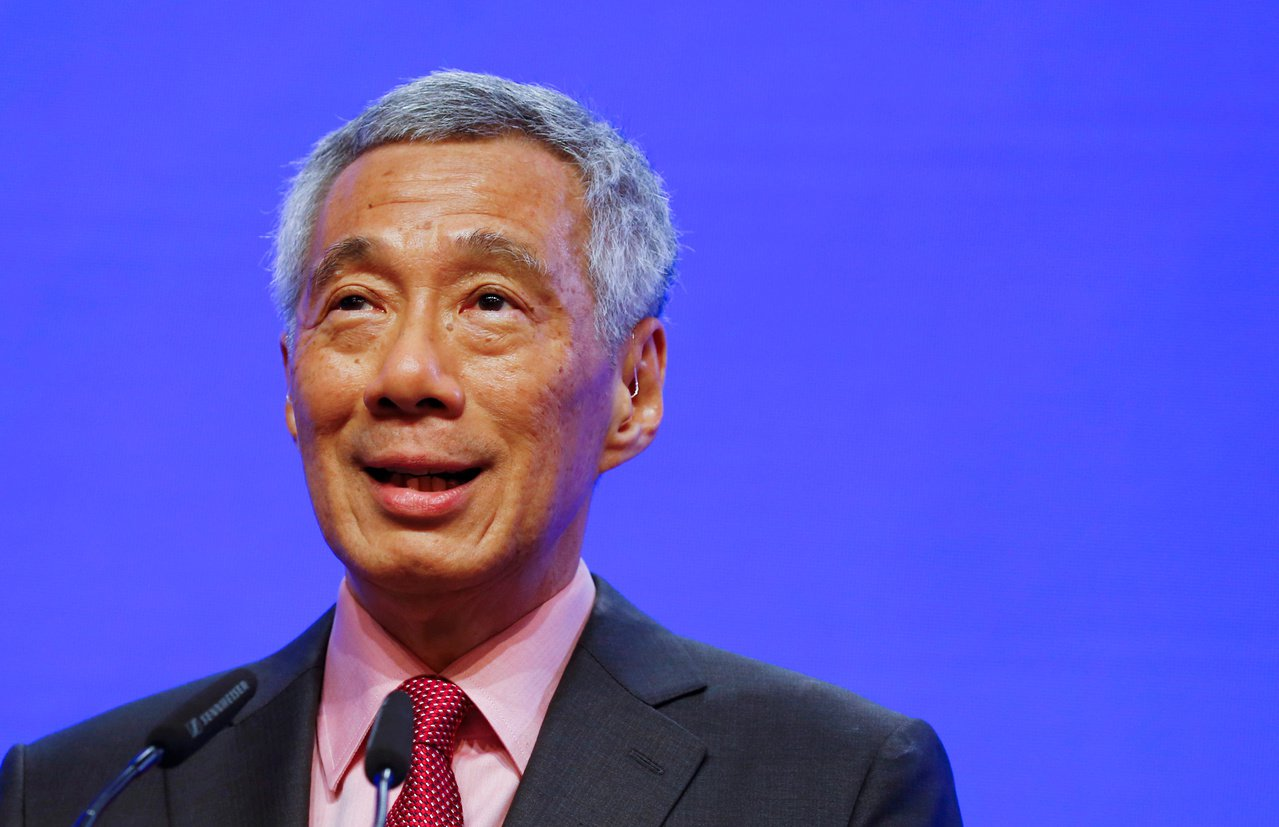 新加坡總理李顯龍。(路透)