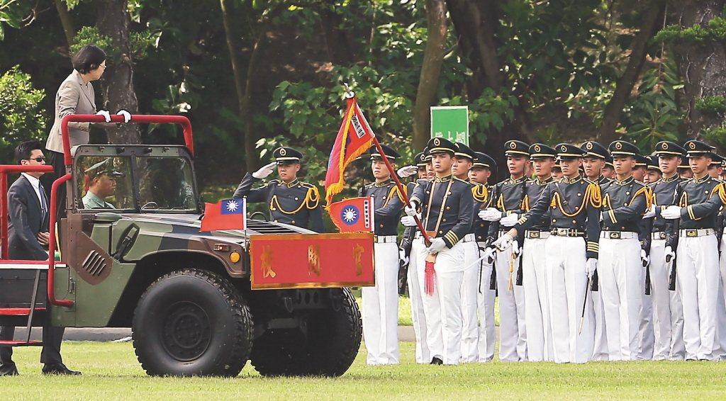 蔡英文連續三年缺席陸官校慶。 圖/聯合報系資料照片