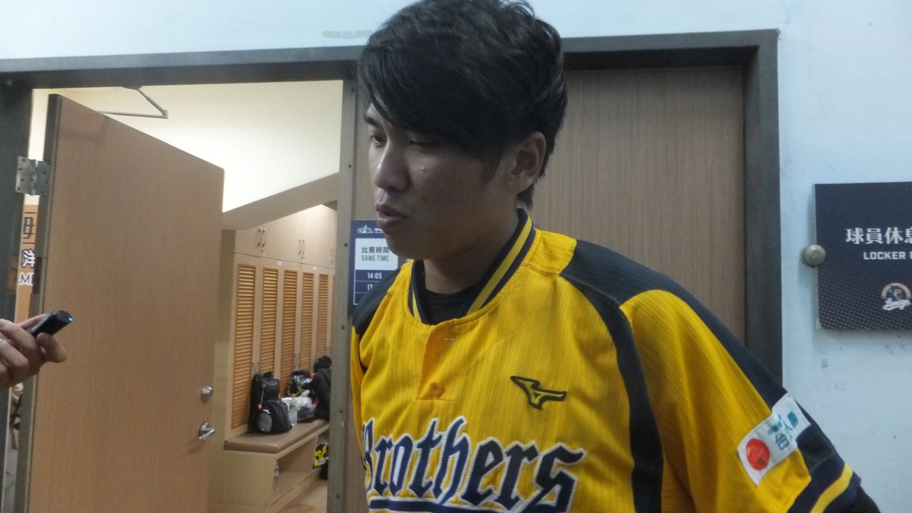 王威晨連25場安打,強調球隊贏球最重要。 記者藍宗標/攝影