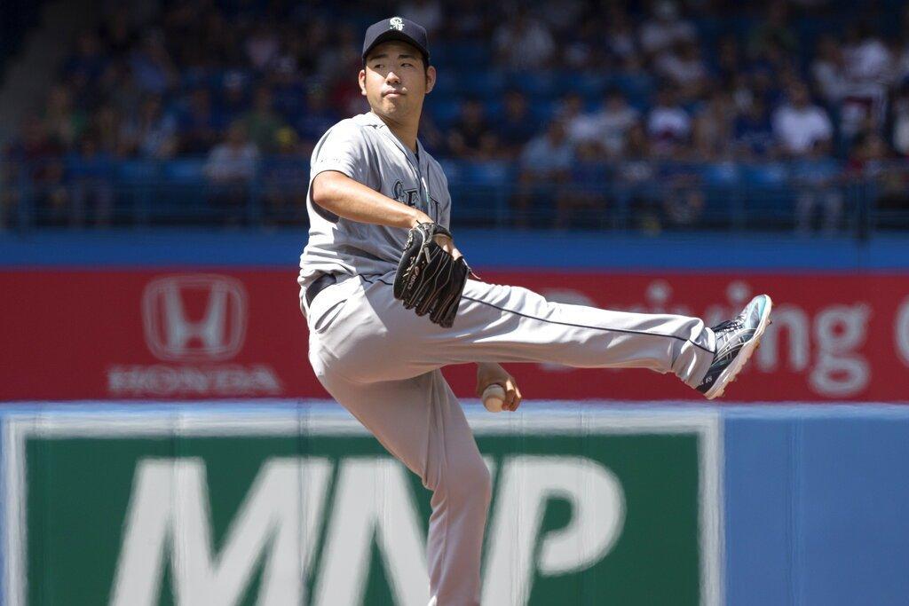 水手日籍投手菊池雄星今天客場先發對抗藍鳥,用96球投出完封,寫下旅美生涯頭一遭。...