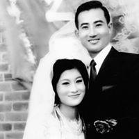 前立法院長王金平拍婚紗照的模樣,英挺帥氣。圖/翻攝自王金平臉書