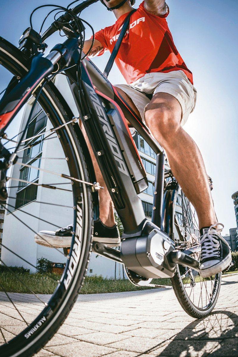 電動自行車進入快速成長期,包括美利達、巨大與有關零組件廠桂盟均同步受惠,圖為美利達旗下的電動自行車。 本報系資料庫