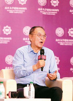 聯想控股董事長柳傳志在2019年亞布力中國企業家論壇上發言。 中新社