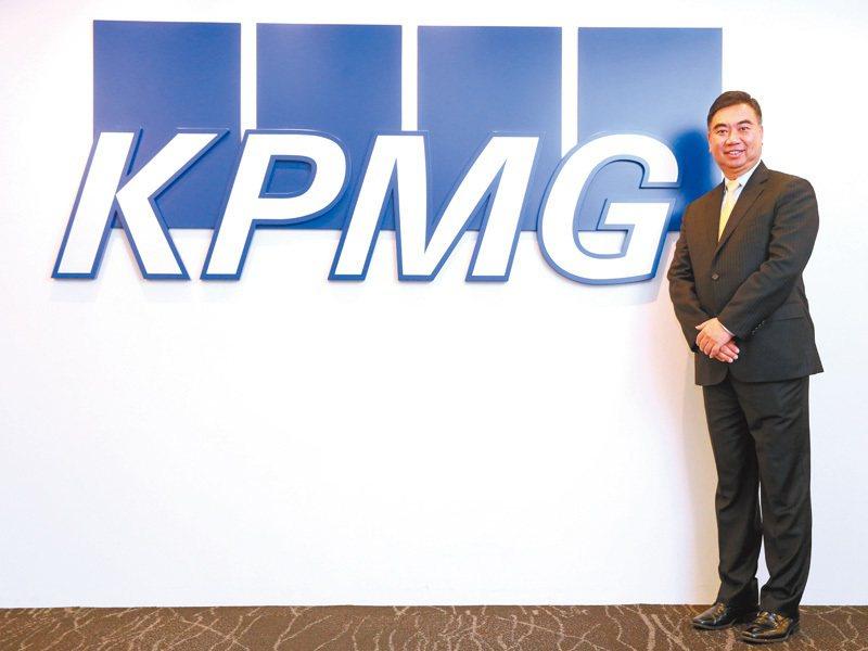 KPMG主席于紀隆。 記者胡經周/攝影