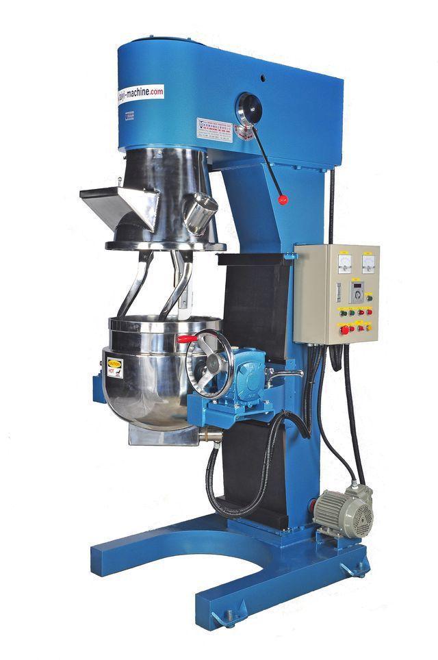 泰億國際攪拌機械公司推出行星雙軸加溫攪拌機。 泰億/提供