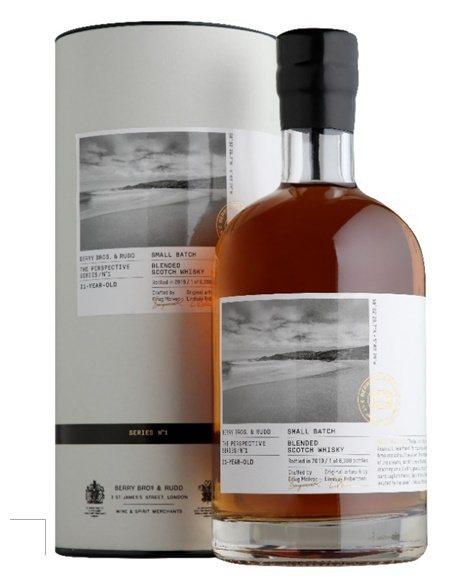 口感豐富優雅、辛香調性交織著香草和蜂蜜的遠景系列21年蘇格蘭威士忌。嘉馥貿易/提...