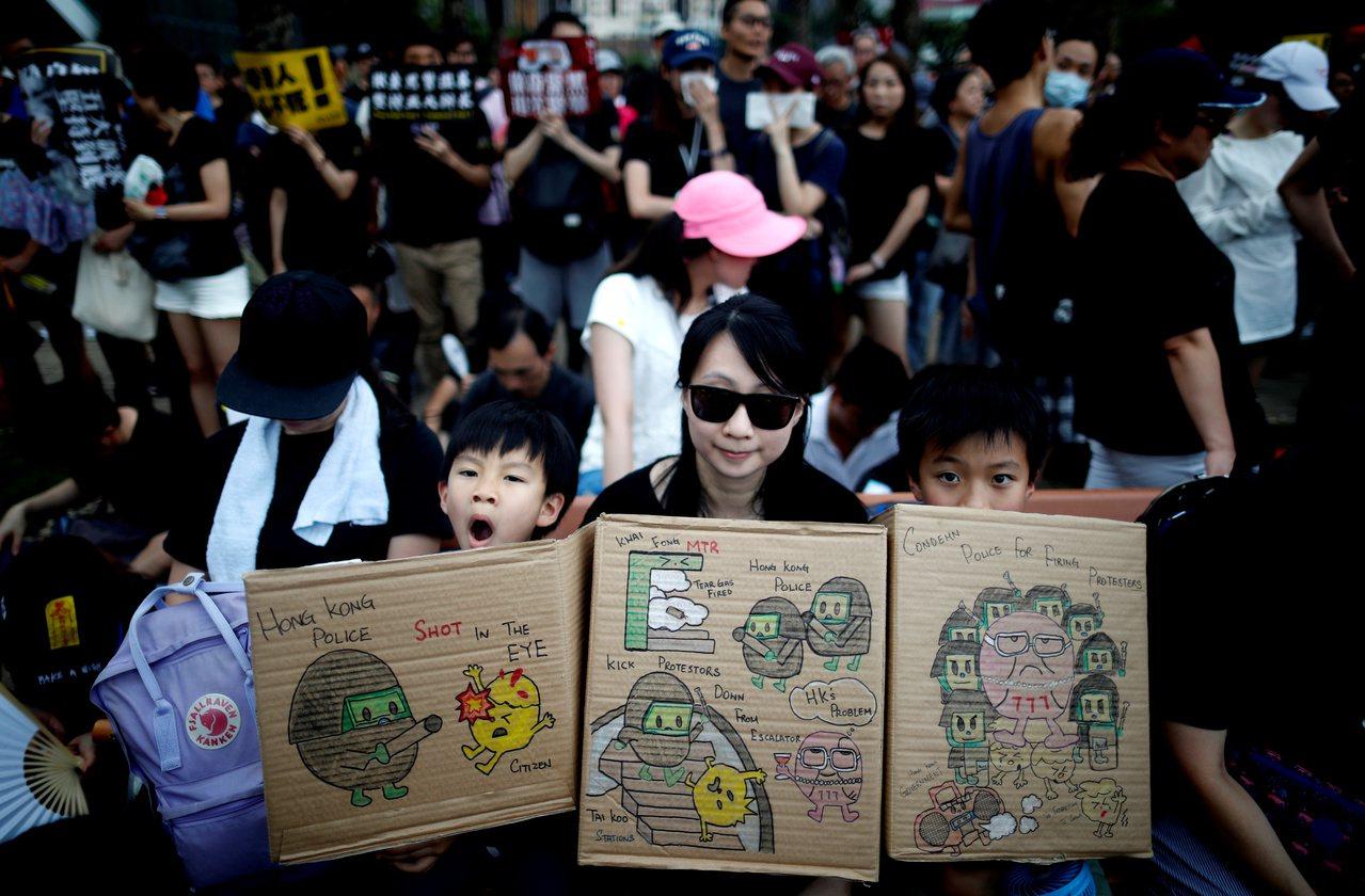 香港民陣申請31日遊行 目的地中聯辦 路透社