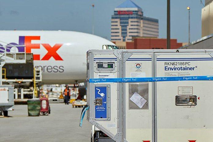 福建警方通報,福建一家運動用品公司收到由聯邦快遞(FedEx)承運的快遞包裹中有...