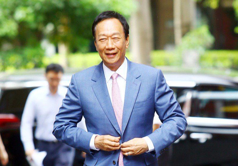 鴻海創辦人郭台銘。 聯合報系資料照/記者杜建重攝影