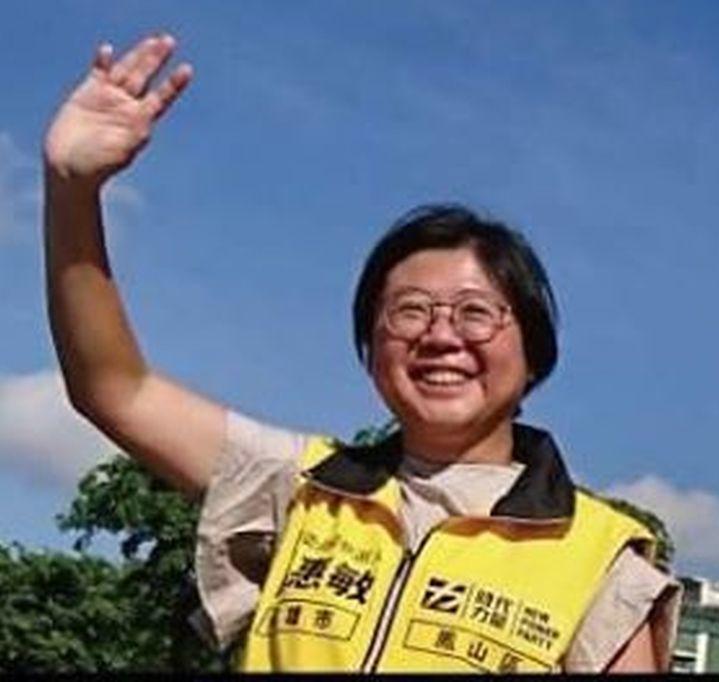 時代力量黨團主任陳惠敏。圖/翻攝陳惠敏臉書