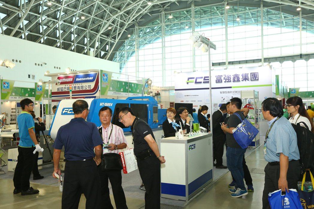 2019年臺灣國際塑橡膠暨複材工業展共計133家國內外廠商,350個攤位,展出石...