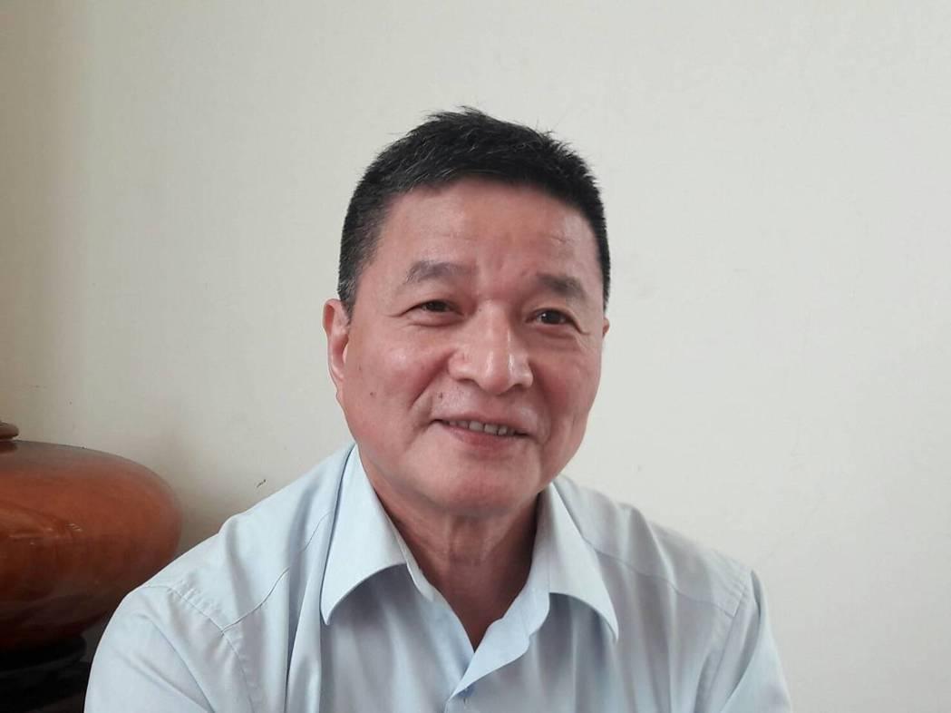 建錩董事長李慶柏 江衍勛/攝影