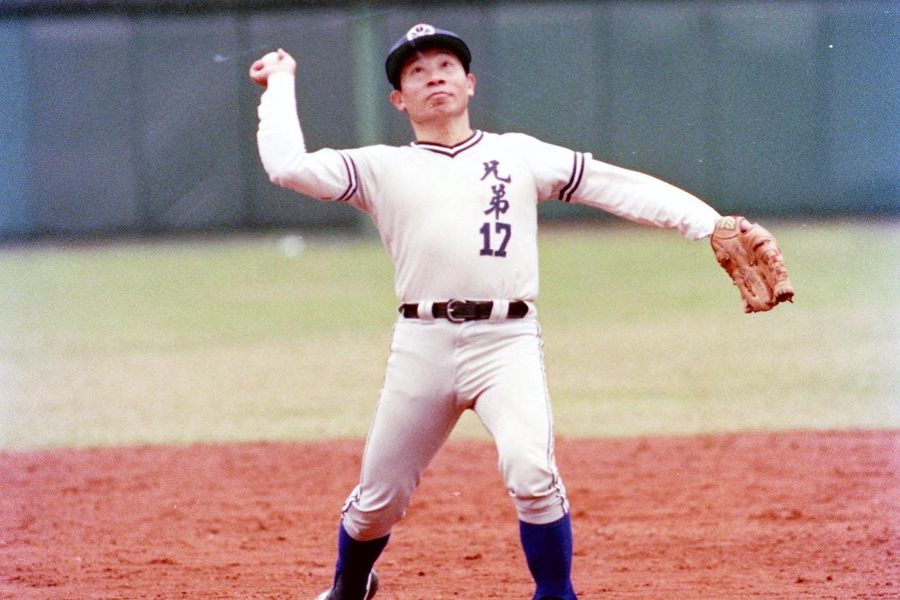 因為愛棒球也愛打棒球,洪家成為中華職棒成立最大推手。 聯合報系資料照