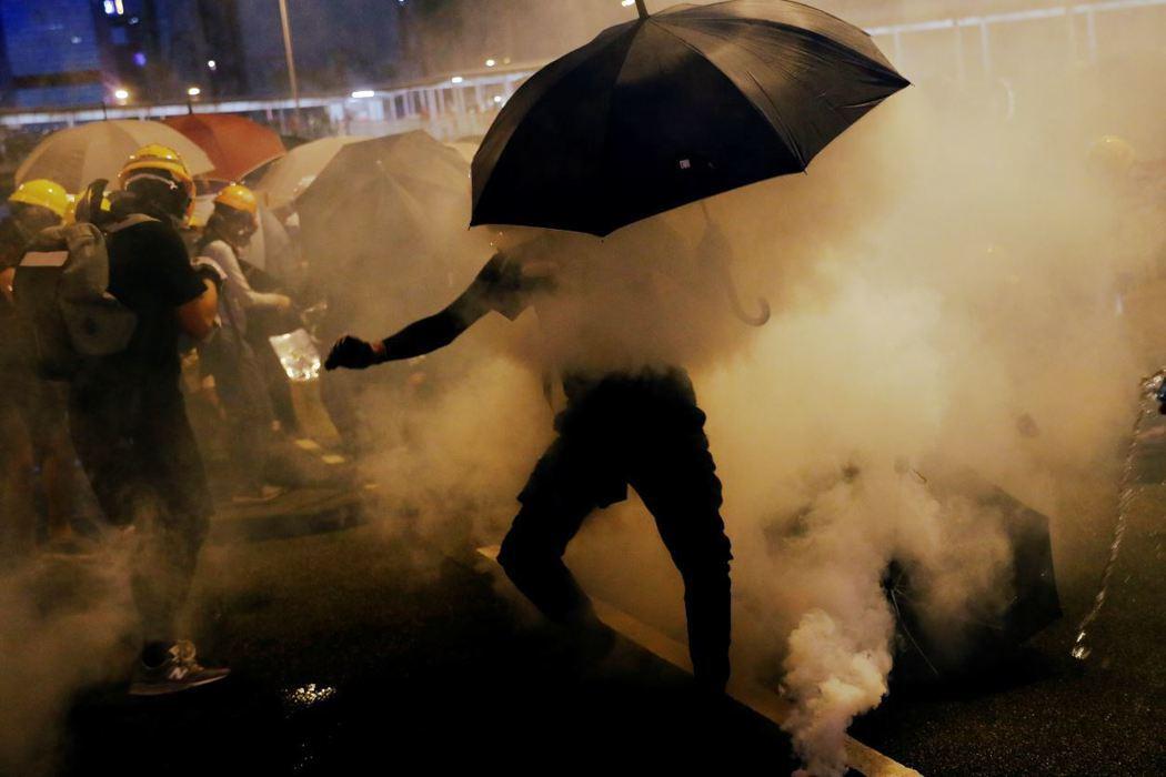 這場運動並非什麼「顏色革命」。這是一場公民抵抗式的自治運動。 圖/路透社