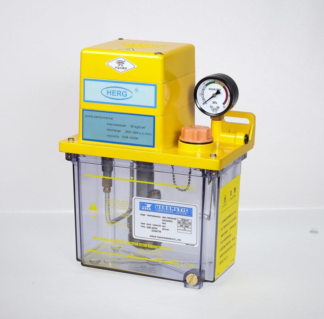 黃油潤滑泵 浚昌/提供