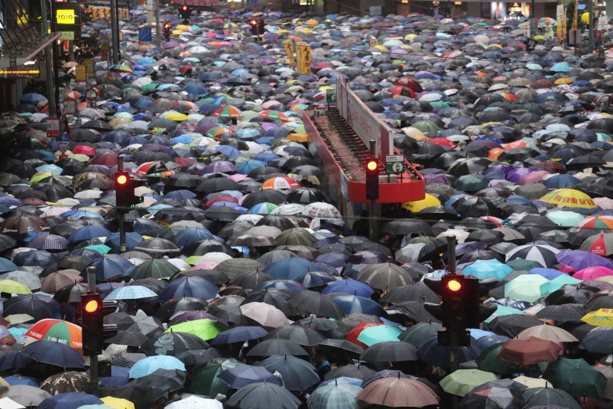 香港的這場運動持續了兩個多月,該如何定義這場運動? 圖/歐新社