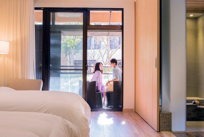 雙人入住宜蘭力麗威斯汀,2周年慶優惠方案每晚不到7000元。 業者/提供