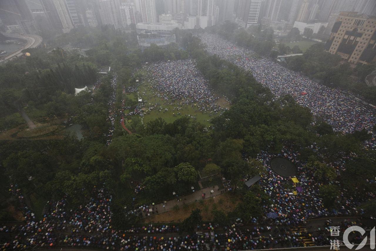 香港示威活動未有平息迹象。 香港01記者張浩維/攝影