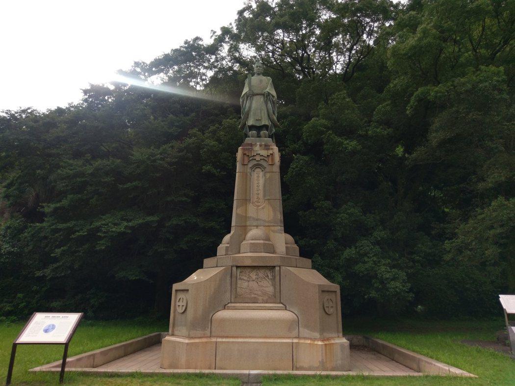 「島津齊彬」銅像