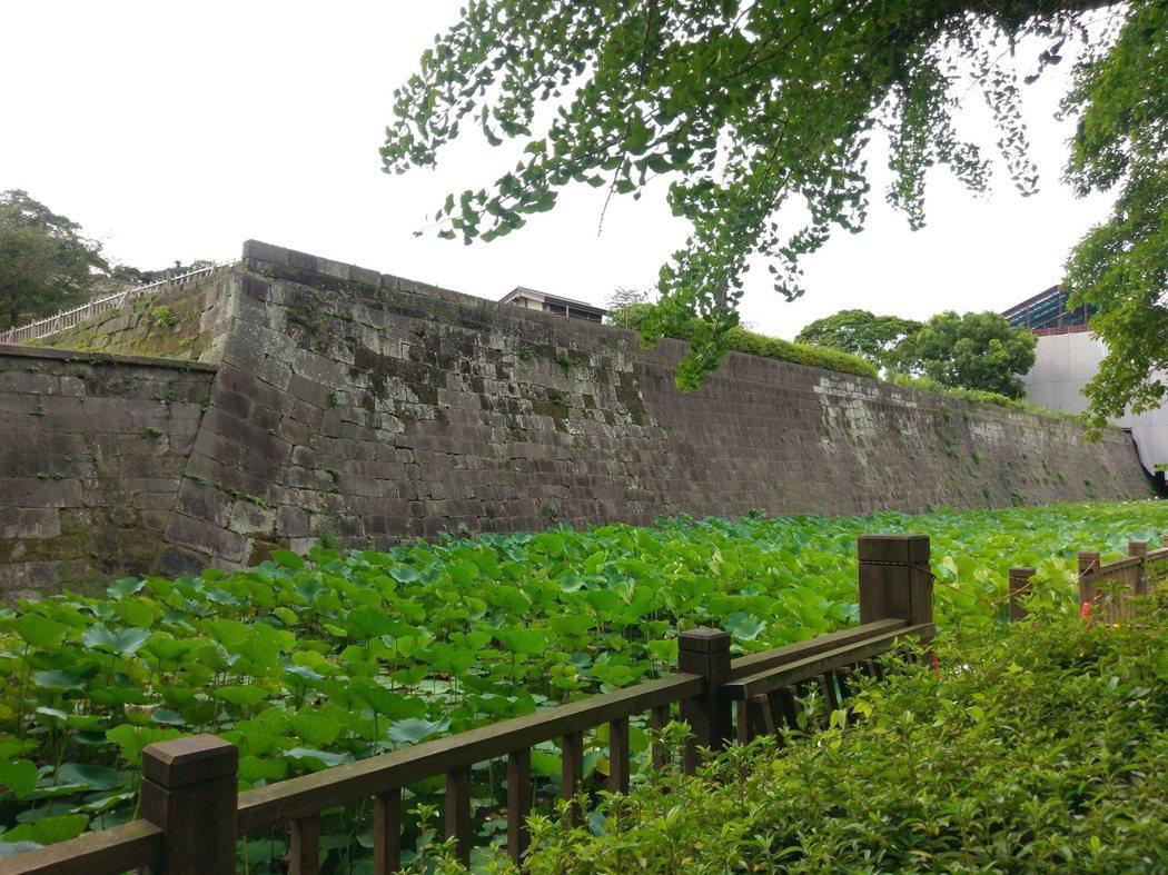 鶴丸城(鹿兒島城)御角櫓跡