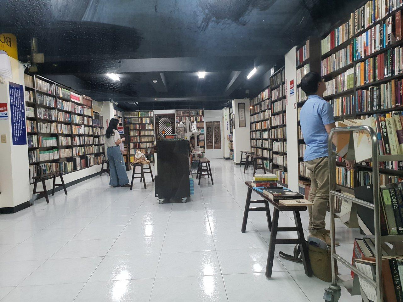 無人書店讓提供讀者自在閱讀的空間。記者陳宛茜/攝影