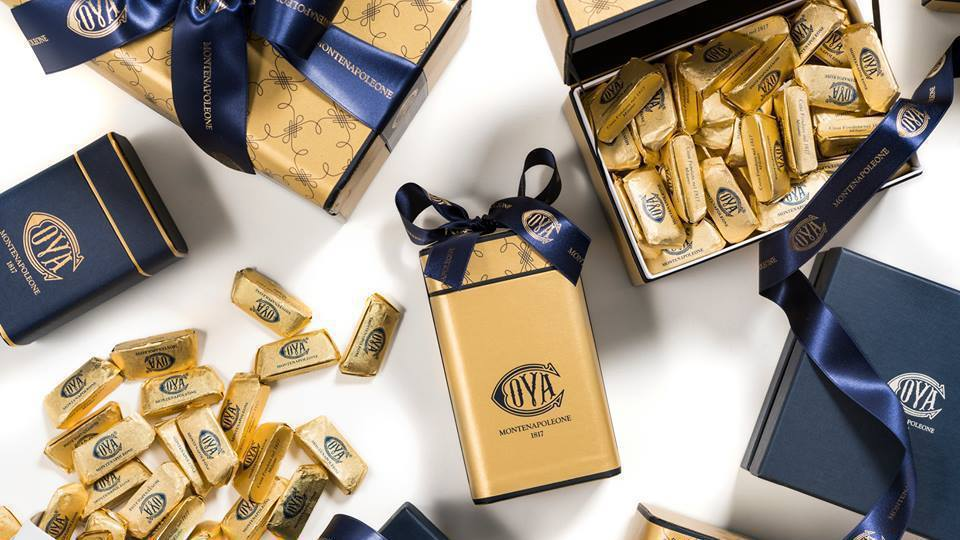 COVA明星商品金磚巧克力。 圖/摘自COVA Taiwan臉書
