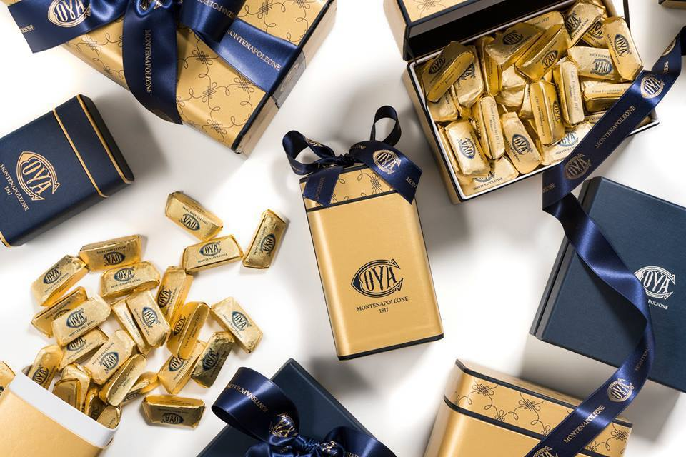 COVA明星商品金磚巧克力。圖/摘自COVA Taiwan臉書