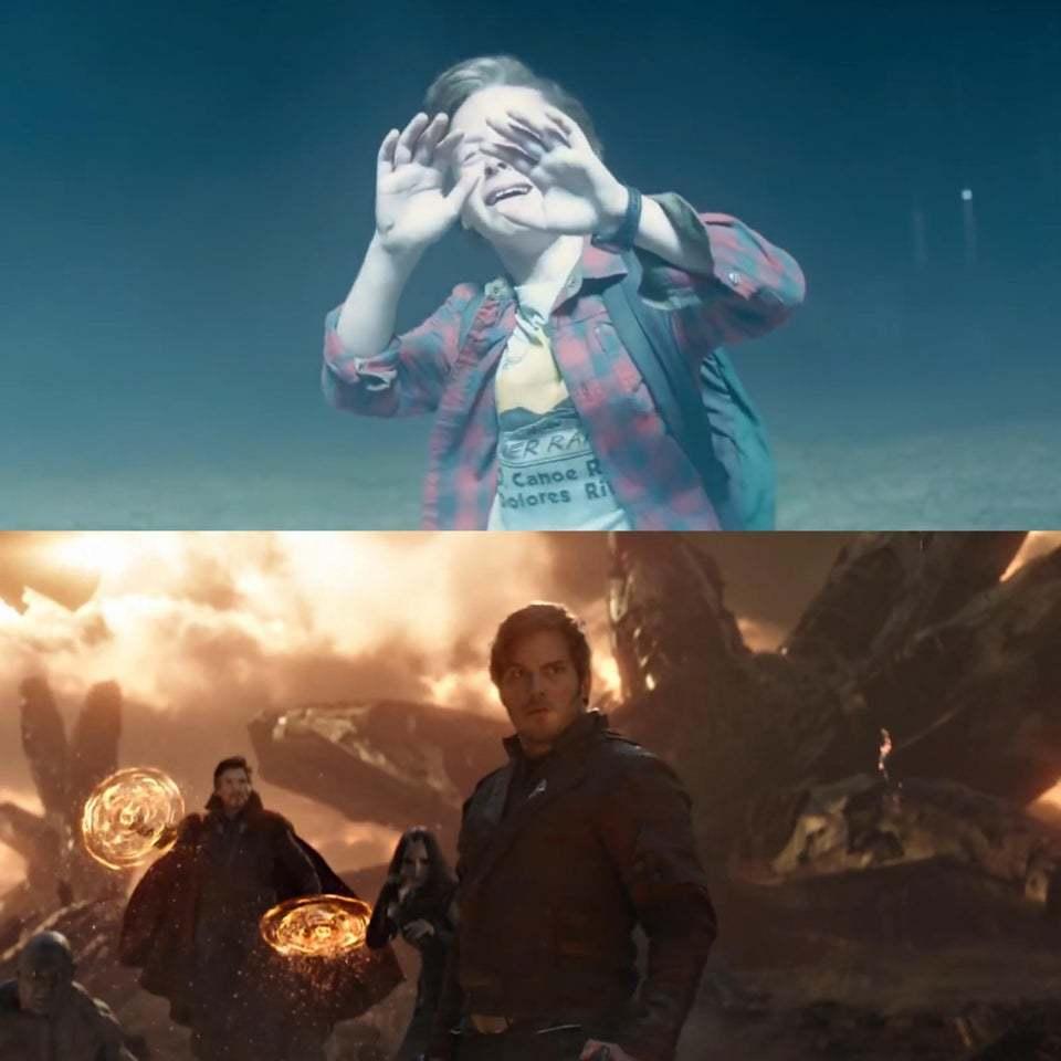 「星爵」彼得奎爾在三十多年後終於重返地球。圖/摘自Reddit